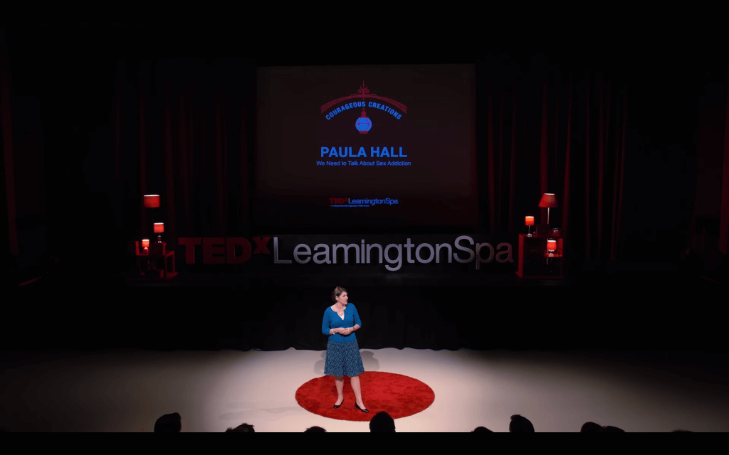 TEDx Talk Paula Hall We need to talk about sex addiction